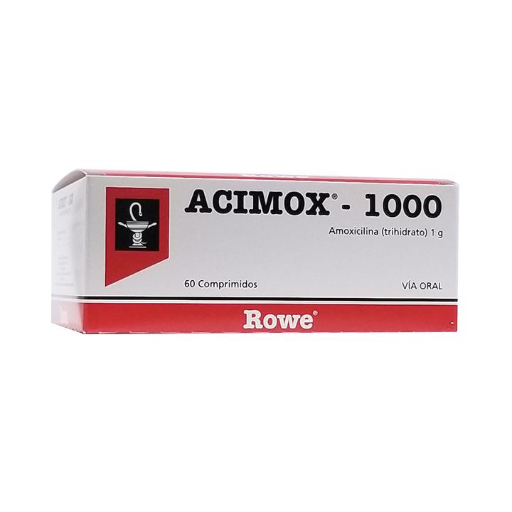 Acimox 1000Mg (1g) Comprimidos